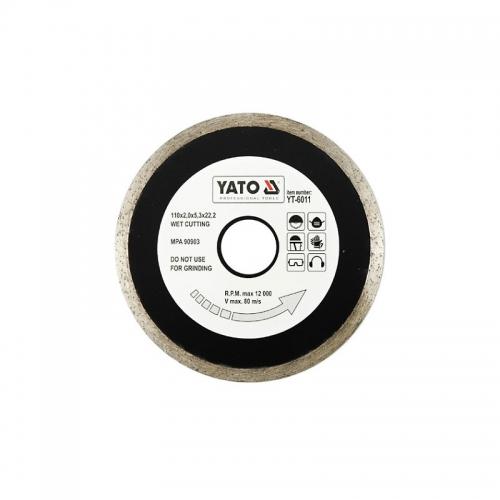 Отрезной алмазный диск для мокрой резки 110 мм
