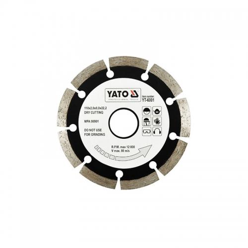 """Отрезной алмазный диск """"SEGMENT"""" для сухой резки 110 мм"""