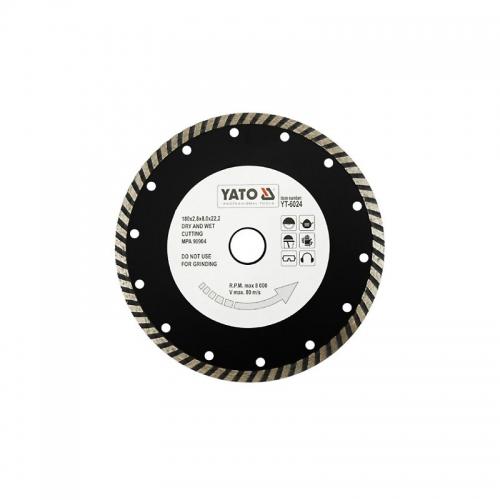 Отрезной алмазный диск TURBO 180 мм
