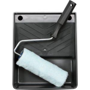 Валик меховой с ванночкой 180 мм