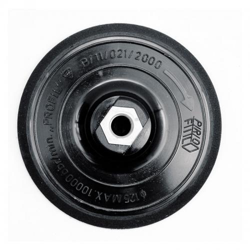 Полировочный диск 125 мм гайка М14 и липучка