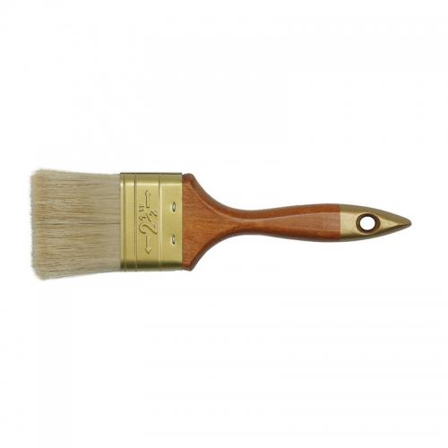 Кисть флейцевая, деревянная ручка 25 мм ПРОФИ