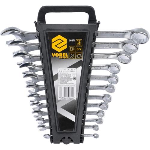 Набор комбинированных ключей 6-22 мм 12 шт.