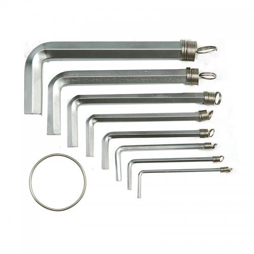 Набор шестигранников 8 шт. 2,0-10 мм CrV
