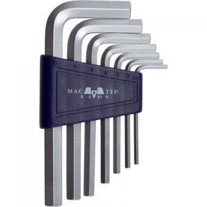 Набор торцевых ключей CV 7 предметов HEX 2.5-10 мм (кассета)