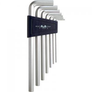 Набор торцевых ключей CV 7 предметов HEX удлинённые 2.5-10 мм (кассета)