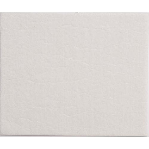 Самоклеющийся войлочный протектор 100х120 мм (белый)