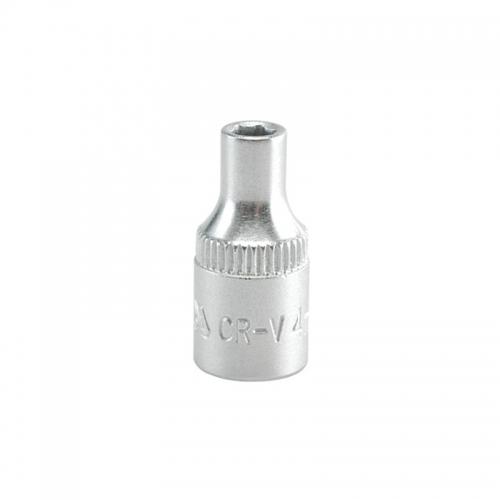 Головка торцевая 1/4'' - 4,5 мм короткая CrV