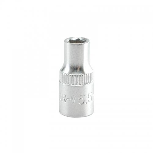 "Головка торцевая 1/4""- 5,5 мм короткая CrV"